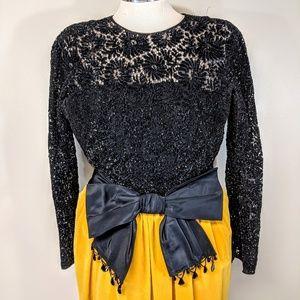Bloomingdale's Dresses - Bloomingdale's Vintage Velvet Gown